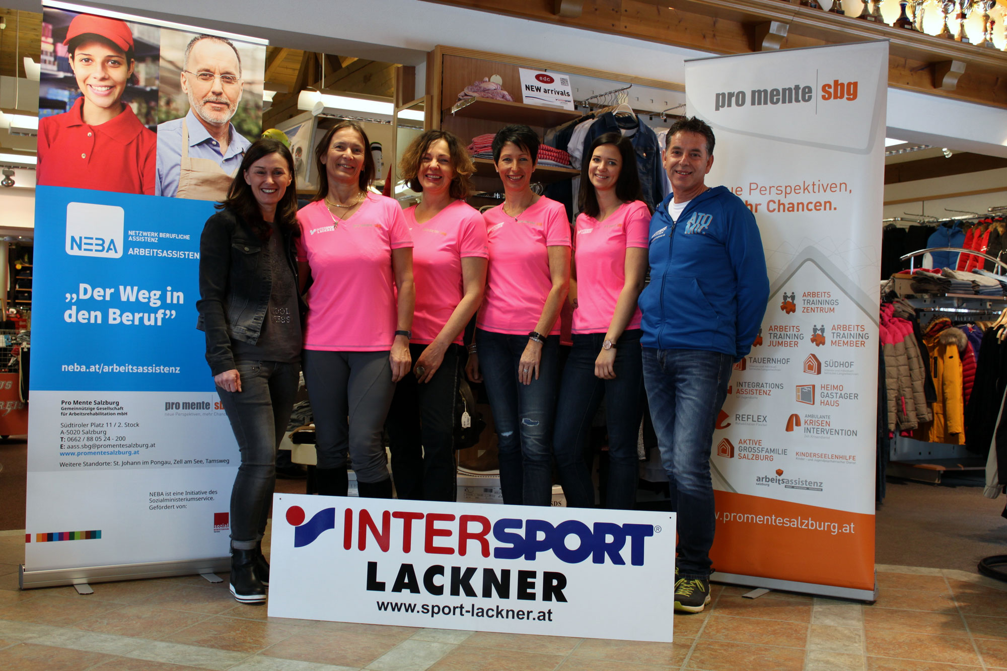 Sportshirts Intersport Lackner 2017